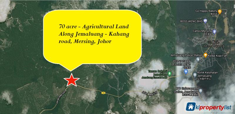 Picture of Agricultural Land for sale in Mersing