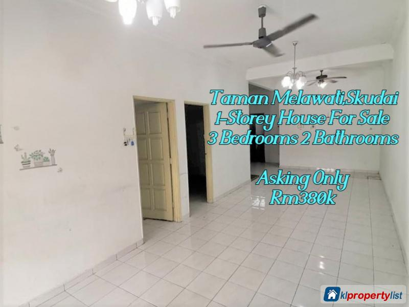 Picture of 3 bedroom 1-sty Terrace/Link House for sale in Skudai