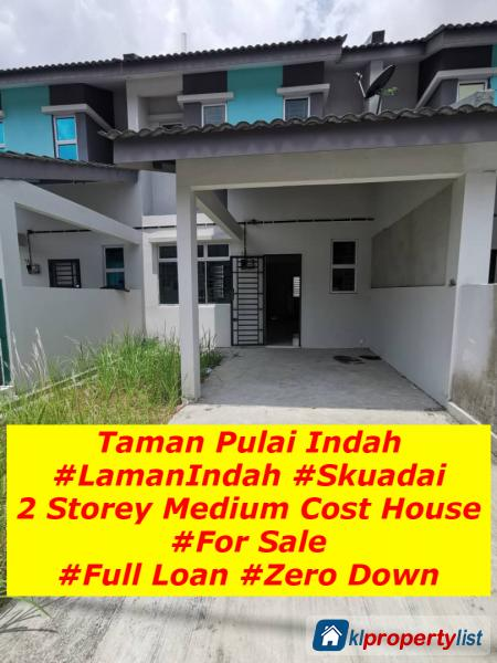 Picture of 3 bedroom 2-sty Terrace/Link House for sale in Skudai