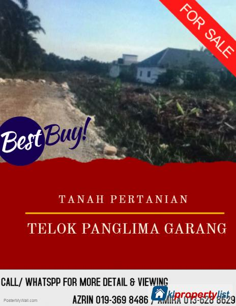 Picture of Agricultural Land for sale in Telok Panglima Garang