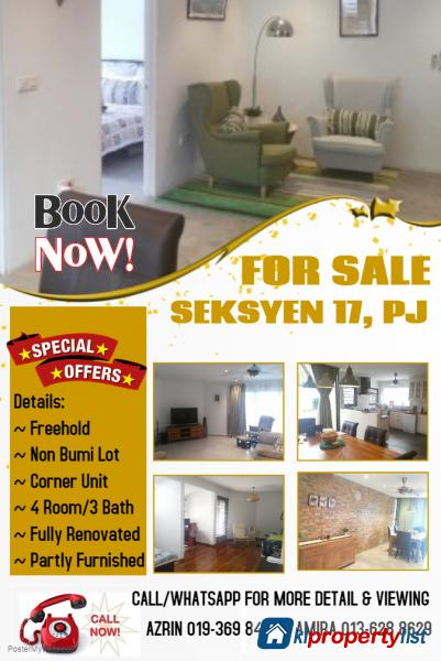Picture of 4 bedroom 2-sty Terrace/Link House for sale in Petaling Jaya