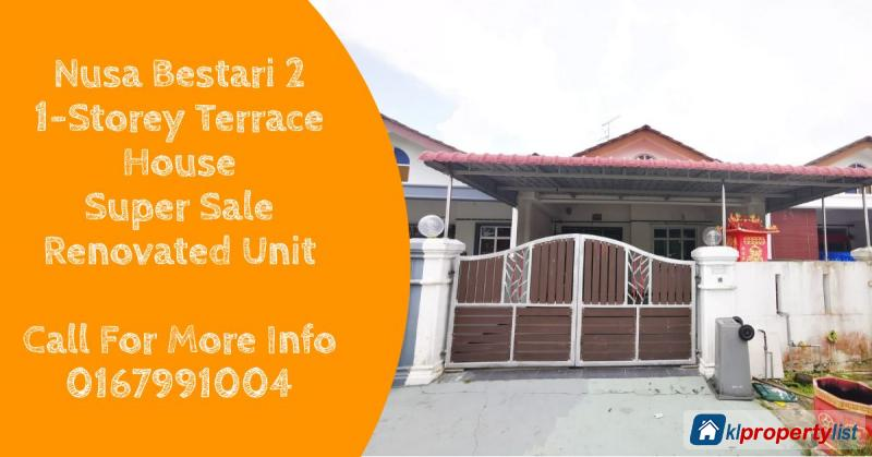 Picture of 3 bedroom 1-sty Terrace/Link House for sale in Johor Bahru