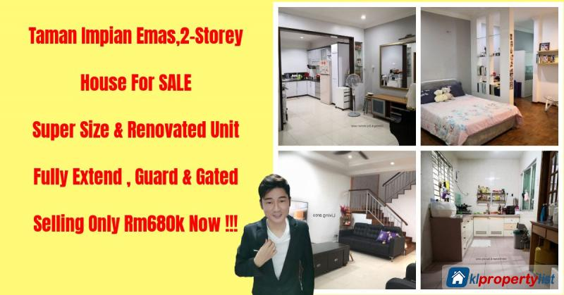Picture of 4 bedroom 2-sty Terrace/Link House for sale in Skudai