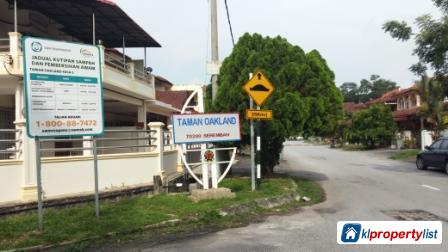 Picture of 3 bedroom 1-sty Terrace/Link House for sale in Seremban