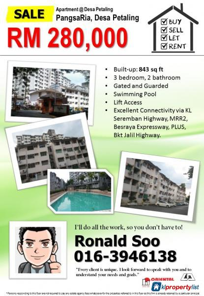 Picture of Apartment for sale in Sungai Besi