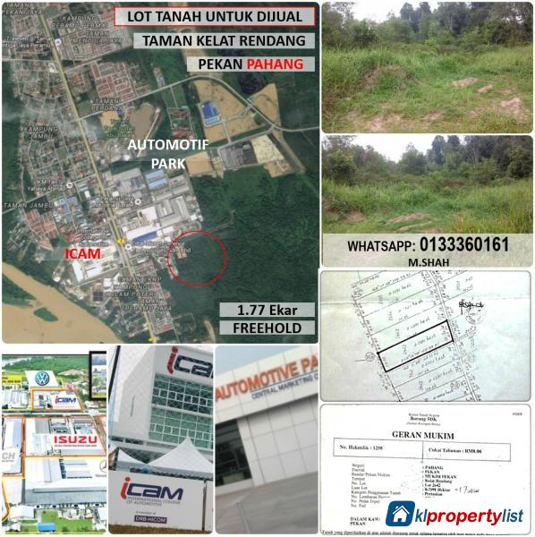 Picture of Agricultural Land for sale in Kuantan