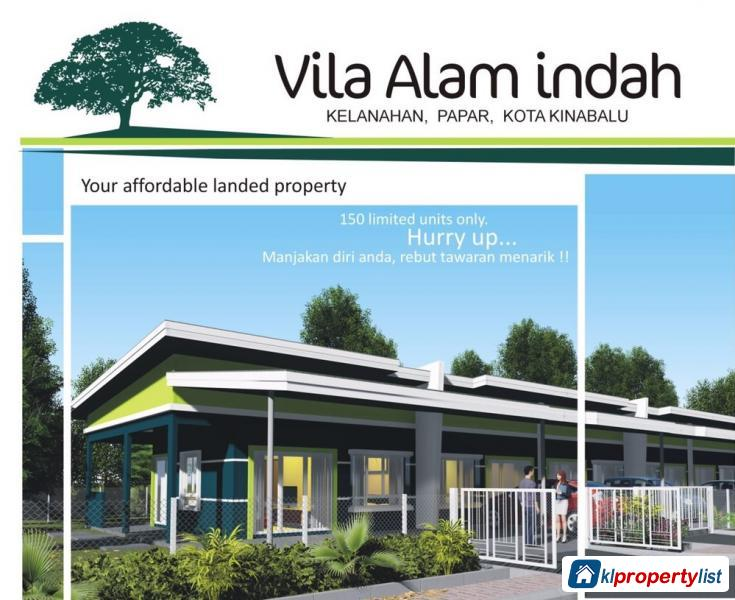 Picture of 2 bedroom 1-sty Terrace/Link House for sale in Tuaran