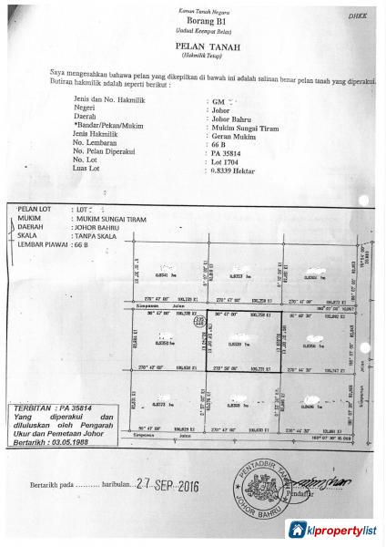 Picture of Agricultural Land for sale in Johor Bahru